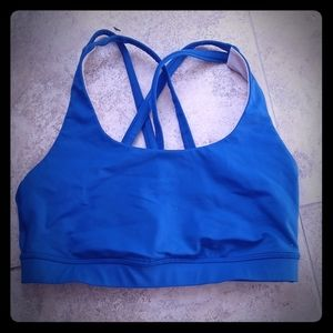 Lululemon teal sports bra 6